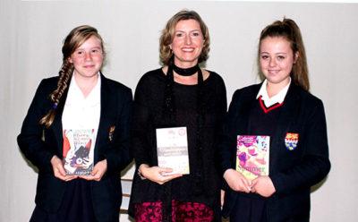Isabel Ashdown with Schoolgirls