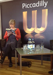 Martine McDonagh reads at Waterstones