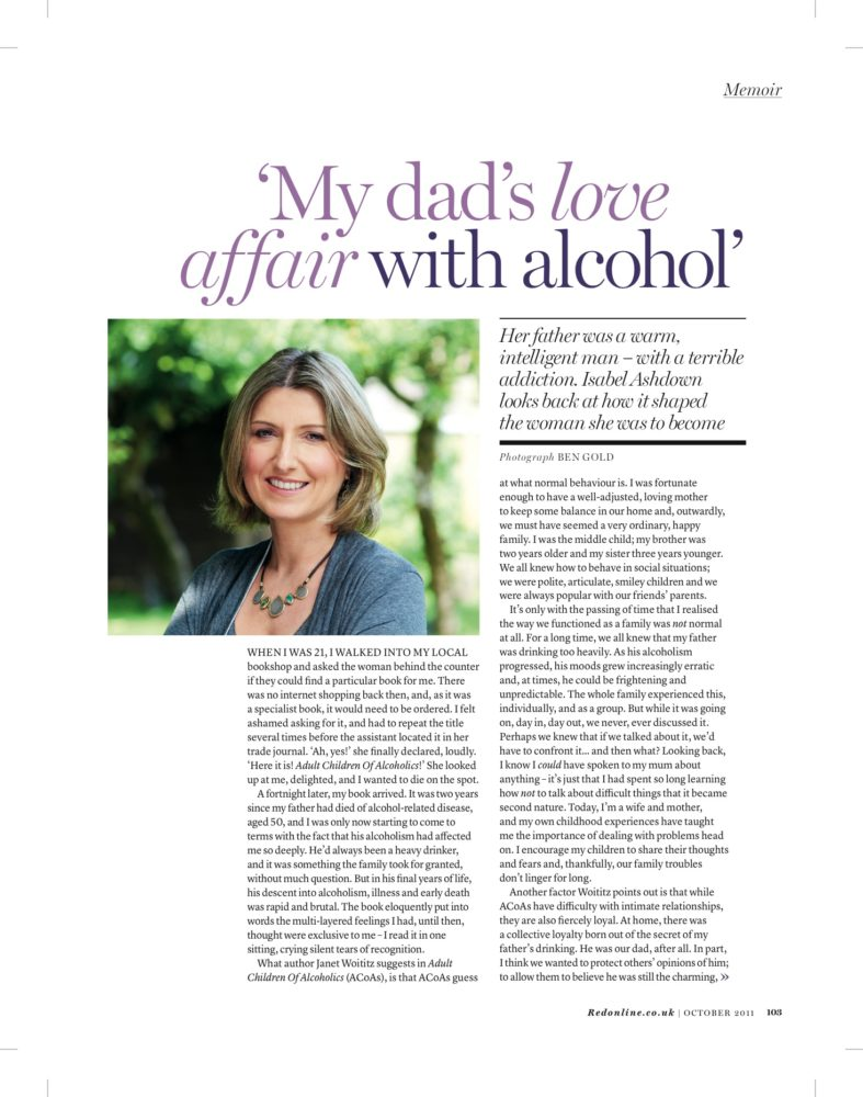 Isabel Ashdown Red Magazine