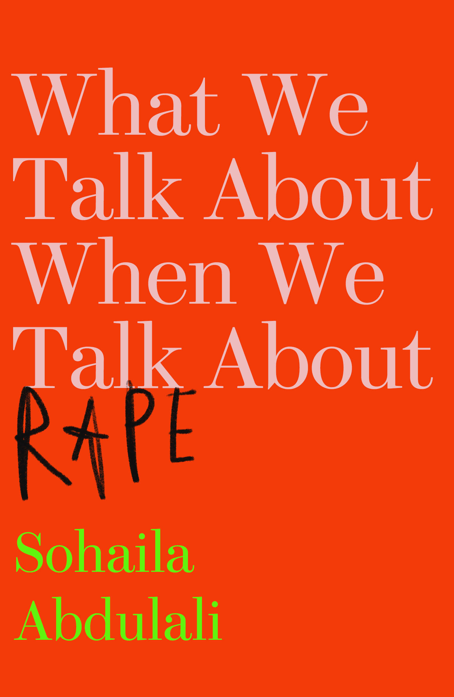 Image result for what we talk about when we talk about rape