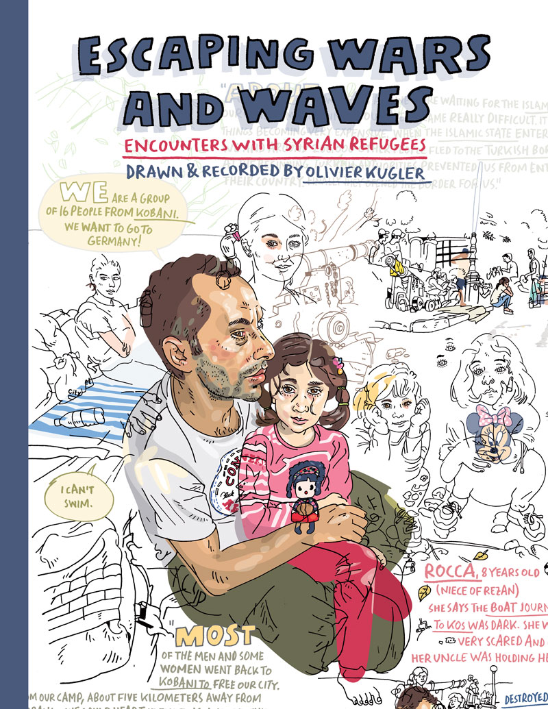 Coming Kids Olivier.Escaping Wars And Waves Myriad