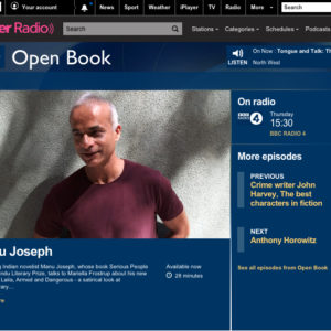 Interview with Mariella Frostrup on *Open Book* BBC Radio 4